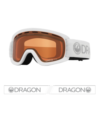 DRAGON 2021 DRAGON LIL D ROCK YOUTH GOGGLE w/ LUMALENS AMBER