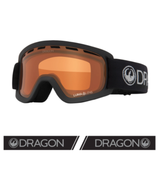 DRAGON 2021 DRAGON LIL D CHARCOAL YOUTH GOGGLE w/ LUMALENS AMBER