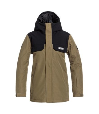 DC 2021 DC HAVEN YOUTH JACKET BOYS OLIVE NIGHT