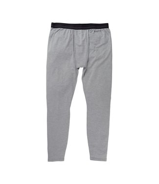 BURTON 2021 BURTON LIGHTWEIGHT X BASE LAYER PANT GRAY HEATHER