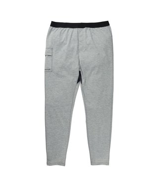 BURTON 2021 BURTON HEAVYWEIGHT X BASE LAYER PANT GRAY HEATHER