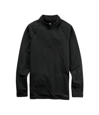 BURTON 2021 BURTON HEAVYWEIGHT X BASE LAYER QUARTER-ZIP TRUE BLACK