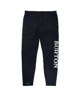 BURTON 2021 BURTON MIDWEIGHT BASE LAYER STASH PANT TRUE BLACK
