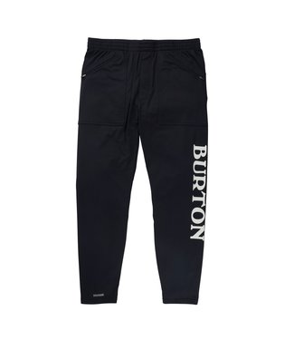 BURTON BURTON MIDWEIGHT BASE LAYER STASH PANT TRUE BLACK 2021