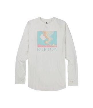 BURTON 2021 BURTON ROADIE BASE LAYER TECH T-SHIRT STOUT WHITE