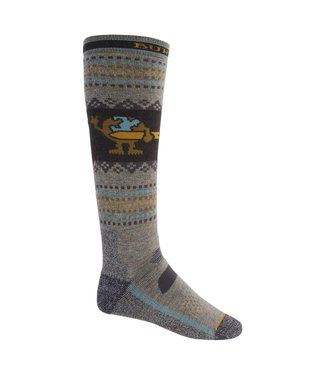 BURTON 2021 BURTON PERFORMANCE MIDWEIGHT SOCK OATMEAL HEATHER