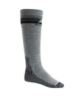 BURTON 2021 BURTON EMBLEM MIDWEIGHT SOCKS GRAY HEATHER