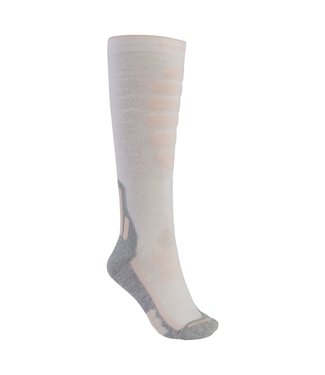 BURTON 2021 BURTON PERFORMANCE + ULTRALIGHT COMPRESSION SOCK WOMENS STOUT WHITE