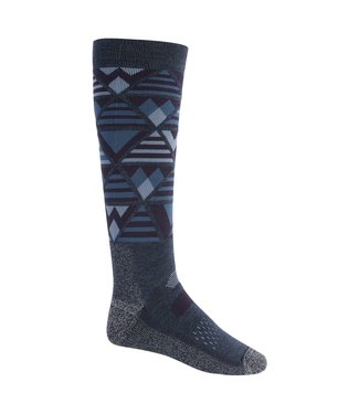 BURTON 2021 BURTON PERFORMANCE MIDWEIGHT SOCK DARK SLATE HEATHER