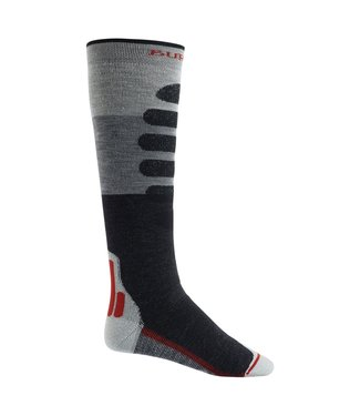 BURTON 2021 BURTON PERFORMANCE + MIDWEIGHT SOCK GRAY HEATHER