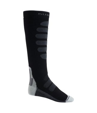 BURTON 2021 BURTON PERFORMANCE + MIDWEIGHT SOCK TRUE BLACK
