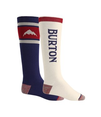 BURTON 2021 BURTON WEEKEND MIDWEIGHT SOCK 2-PACK MOOD INDIGO