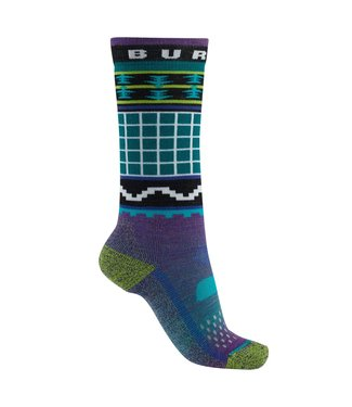 BURTON 2021 BURTON PERFORMANCE MIDWEIGHT SOCK KIDS WILDSTYLE