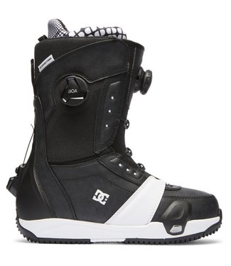 DC 2021 DC LOTUS STEP ON WOMENS BOA SNOWBOARD BOOT BLACK/WHITE