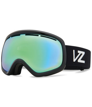 VONZIPPER 2021 VONZIPPER SKYLAB GOGGLE BLACK GLOSS w/ WILDLIFE STELLAR CHROME + YELLOW LENS