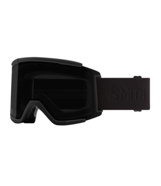 SMITH 2021 SMITH SQUAD XL GOGGLE BLACKOUT w/ CHROMAPOP SUN BLACK + CHROMAPOP STORM ROSE FLASH