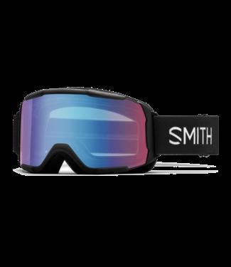 SMITH 2022 SMITH DAREDEVIL GOGGLE BLACK w/ BLUE SENSOR MIRROR