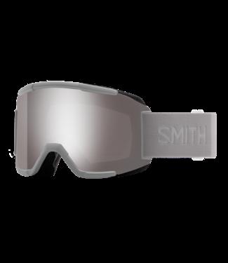 SMITH 2021 SMITH SQUAD GOGGLE CLOUDGREY w/ CHROMAPOP SUN PLATINUM MIRROR + YELLOW