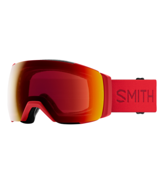 SMITH 2021 SMITH I/O MAG XL GOGGLE LAVA w/ CHROMAPOP SUN RED MIRROR + CHROMAPOP STORM YELLOW FLASH