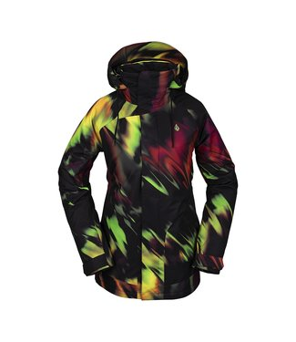 VOLCOM 2021 VOLCOM WESTLAND INSULATED WOMENS JACKET ACID YELLOW