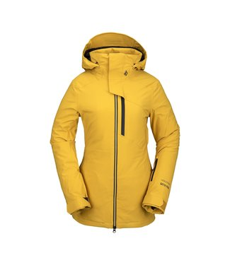 VOLCOM 2021 VOLCOM 3D STRETCH GORE-TEX WOMENS JACKET RESIN GOLD