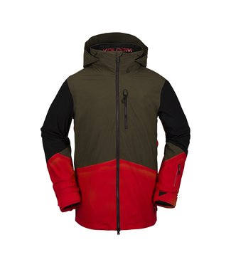 VOLCOM 2021 VOLCOM BL STRETCH GORE JACKET RED