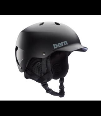 BERN 2021 BERN WATTS HELMET MATTE BLACK