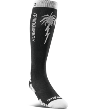THIRTY-TWO 2021 THIRTY-TWO SPRING BREAK SOCK BLACK