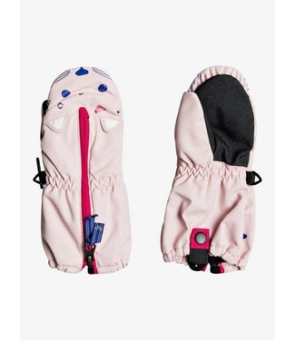 ROXY 2021 ROXY GIRLS SNOWS UP MITT POWDER PINK (MEM0)