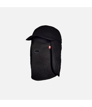 AIRHOLE 2021 AIRHOLE 5 PANEL TECH HAT 10K SOFTSHELL BLACK