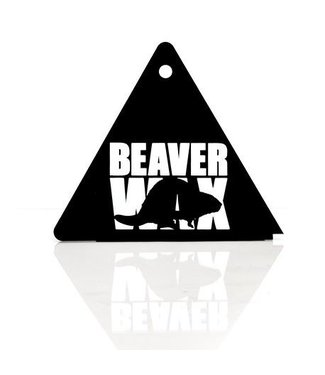 BEAVER WAX TRIANGLE SCRAPER