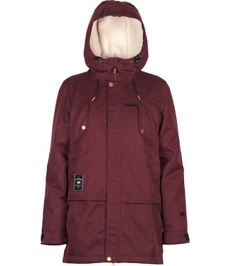 L1 2021 L1 ASHLAND JACKET WOMENS WINE
