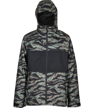 L1 2021 L1 HASTING JACKET TIGER CAMO BLACK