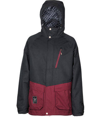 L1 2021 L1 LEGACY JACKET BLACK WINE