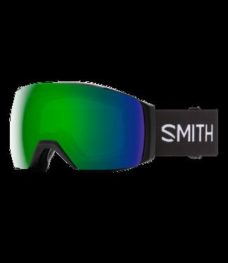 SMITH SMITH I/O MAG XL GOGGLE BLACK w/ CHROMAPOP SUN GREEN MIRROR + CHROMAPOP STORM YELLOW FLASH 2021