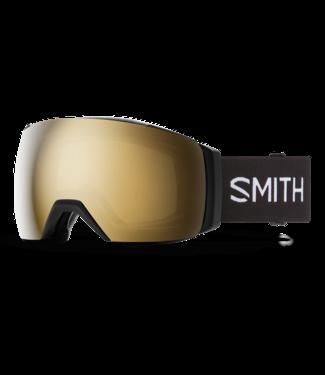SMITH 2021 SMITH I/O MAG XL ASIA FIT GOGGLE BLACK w/ CHROMAPOP SUN BLACK GOLD MIRROR + CHROMAPOP STORM ROSE FLASH