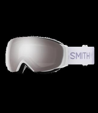 SMITH 2021 SMITH I/O MAG S ASIA FIT GOGGLE WHITE FLORALS w/ CHROMAPOP SUN PLATINUM MIRROR + CHROMAPOP STORM ROSE FLASH