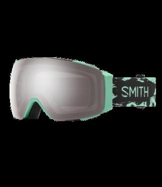 SMITH 2021 SMITH I/O MAG GOGGLE BERMUDA MARBLE w/ CHROMAPOP SUN PLATINUM MIRROR + CHROMAPOP STORM ROSE FLASH