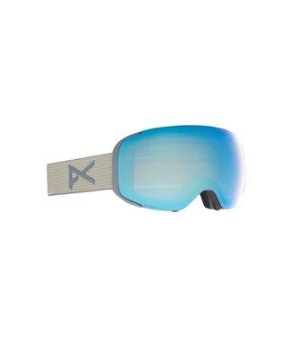 ANON 2021 ANON M2 GOGGLE GRAY W/PERCEIVE VARIABLE BLUE + BONUS LENS
