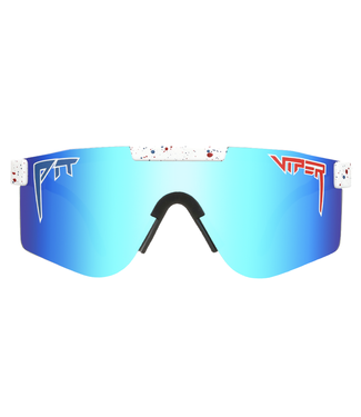 PIT VIPER PIT VIPER THE ABSOLUTE FREEDOM DOUBLE WIDE POLARIZED SUNGLASSES