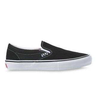 VANS VANS MENS SKATE SLIP-ON SHOE - BLACK/WHITE
