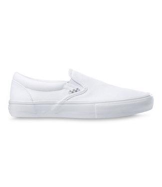 VANS VANS MENS SKATE SLIP-ON SHOE - TRUE WHITE
