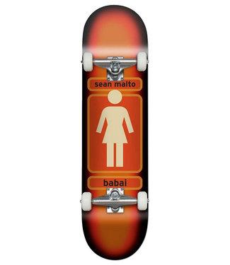 GIRL GIRL SEAN MALTO COMPLETE SKATEBOARD - 7.5