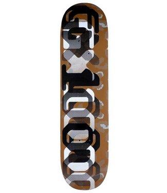 GX1000 OG LEOPARD CAMO SKATEBOARD DECK - 8.125