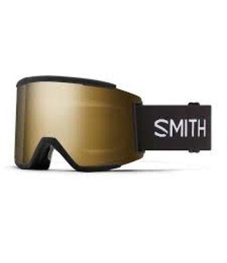 SMITH 2021 SMITH SQUAD XL GOGGLE BLACK w/ CHROMAPOP SUN BLACK GOLD MIRROR + CHROMAPOP STORM ROSE FLASH