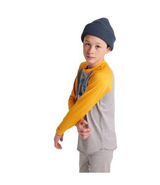 BURTON BURTON KIDS' BASE LAYER TECH T-SHIRT GRYHTR/CADMYL 2022