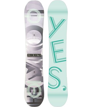 YES YES WOMEN'S EMOTICON SNOWBOARD 2022