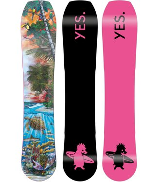 YES YES HYBRID UNINC DCP SNOWBOARD 2022