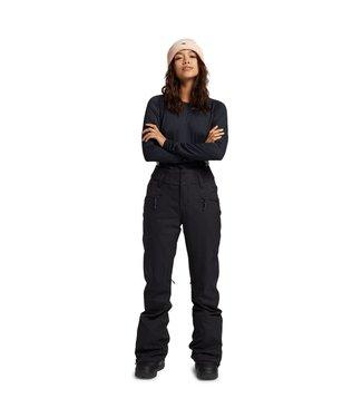 BURTON BURTON WOMEN'S MARCY HIGH RISE STRETCH PANTS TRUE BLACK 2022