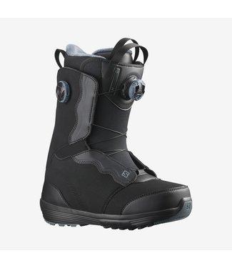 SALOMON SALOMON WOMEN'S IVY BOA SNOWBOARD BOOTS BLACK 2022